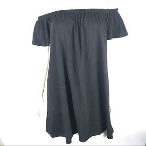 ASOS 4 Off Shoulder Mini Short Skater Dress Flowy
